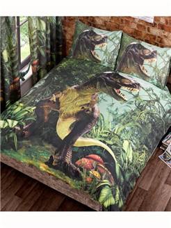 Dinosaur Double Duvet Cover T-Rex