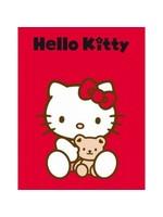 Sanrio  Hello Kitty Fleece Deken Knuffel