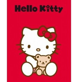 Hello Kitty Fleece Deken Knuffel