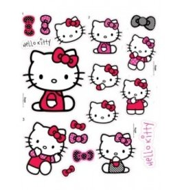 HELLO KITTY DEOCRATIE STICKERS