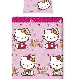 Hello Kitty Dekbedovertrek Knoopje HK08210