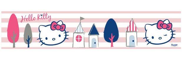 Hello Kitty Behangrand 5901383407132