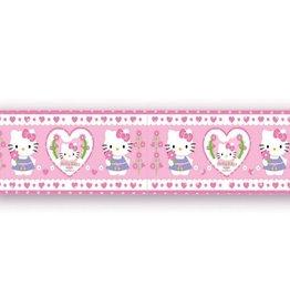Hello Kitty Behangrand Hartjes