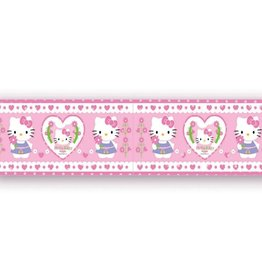 Sanrio  Hello Kitty Behangrand Hartjes