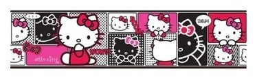 Sanrio  Hello Kitty Behangrand HK08097