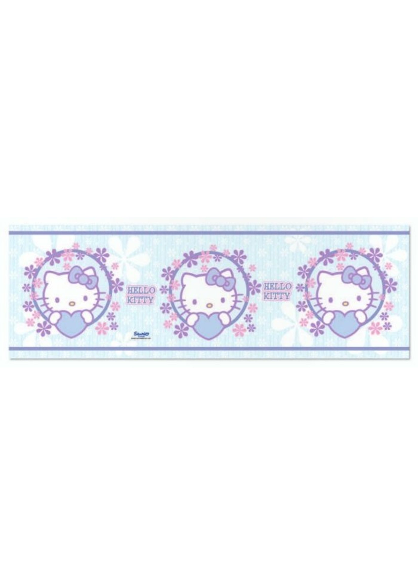 Sanrio  Hello Kitty Behangrand 3D Effect