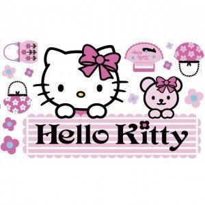 Hello Kitty Decoratie Stickers HK08186
