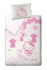 Hello Kitty Dekbedovertrek 140x200 Katoen HK08177-Melody