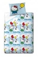 Hello Kitty Dekbedovertrek 140x200 Katoen HK08177-vliegen