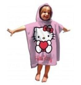 Hello Kitty Poncho Handdoek Hart