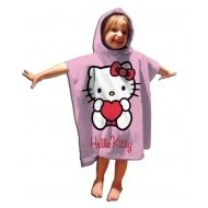 Sanrio  Hello Kitty Poncho Handdoek Hart