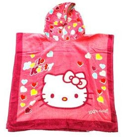 Sanrio  Hello Kitty Poncho Handdoek 60x120