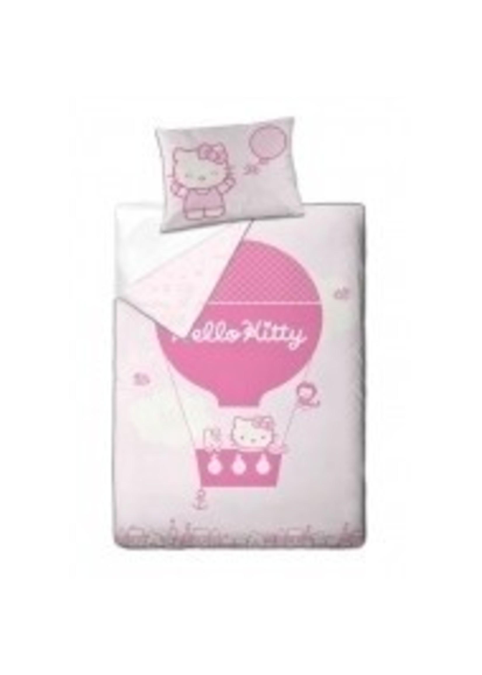 Hello Kitty Dekbedovertrek 140x200 Organic Katoen Balloon HK08177-OKR