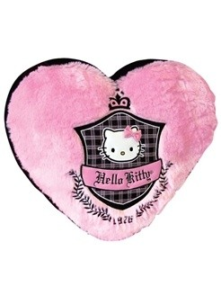 Hello Kitty Knuffel Kussen Hart HK08240