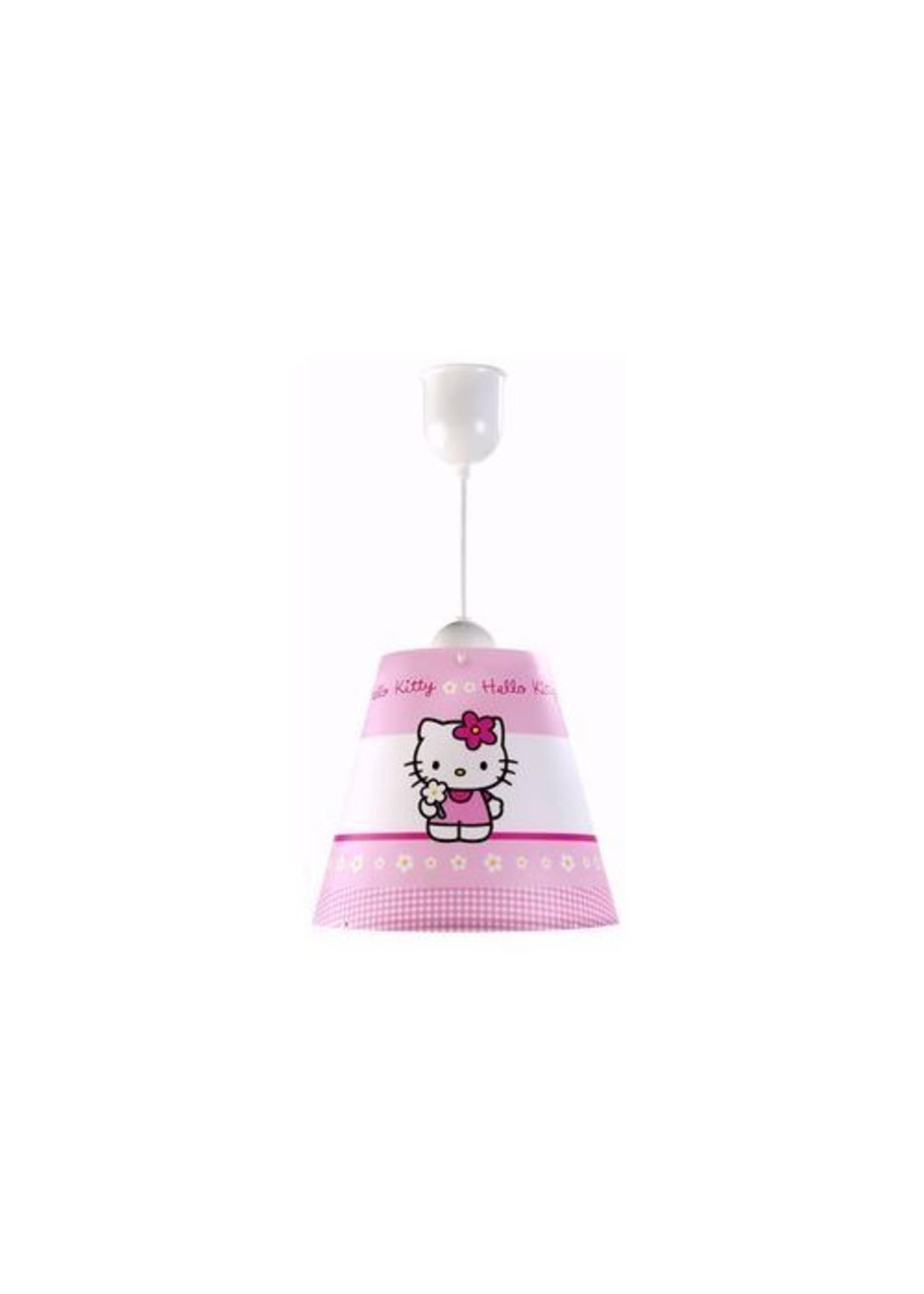 Hello Kitty Hang Lampenkap Bloemmetjes HK08250