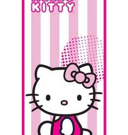 Hello Kitty Handdoek Candy Stripe