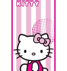Sanrio  Hello Kitty Handdoek Candy Stripe