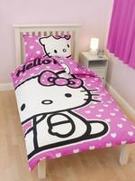 Hello Kitty Dekbedovertrek Set Hart HK08178