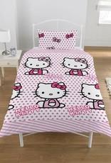 Hello Kitty Dekbedovertrek Set Rijen 5013259301205