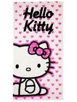 Sanrio  Hello Kitty Handdoek Hartjes