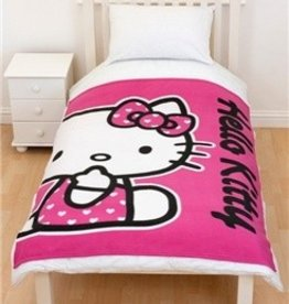 Hello Kitty Fleece Deken HK08239