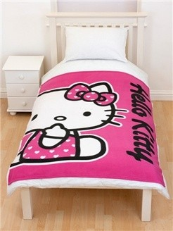 Hello Kitty Fleece Deken HK08239