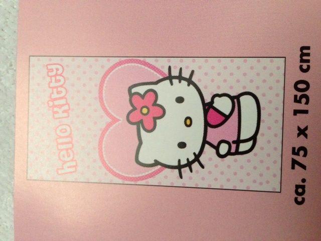 Hello Kitty Handdoek 75x150 HK08257