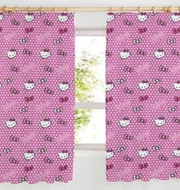 Hello Kitty Gordijn Puntjes HK08121-182