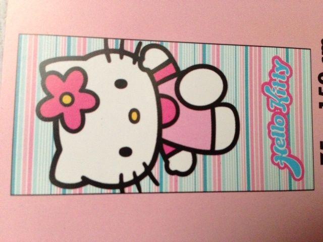 Sanrio  Hello Kitty Handdoek Strepen