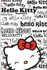 Hello Kitty Handdoek 150x75 Smile HK08208
