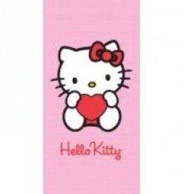 Hello Kitty Handdoek Hart