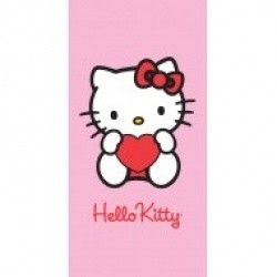 Sanrio  Hello Kitty Handdoek Hart