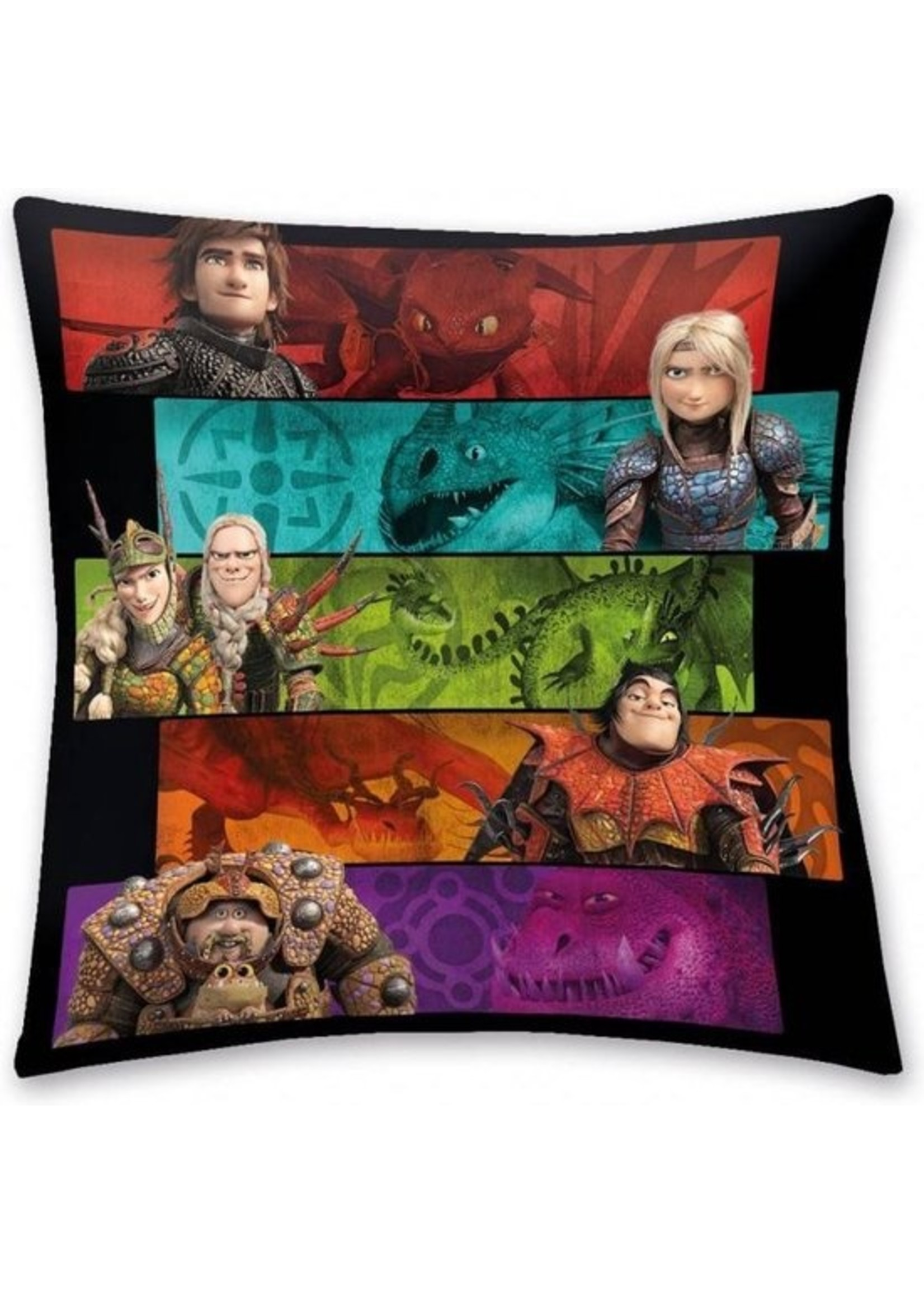 Dreamworks How to Train your Dragon Kussen Team