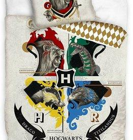Warner Bros Harry Potter Duvet Cover Set Hogwarts Animals