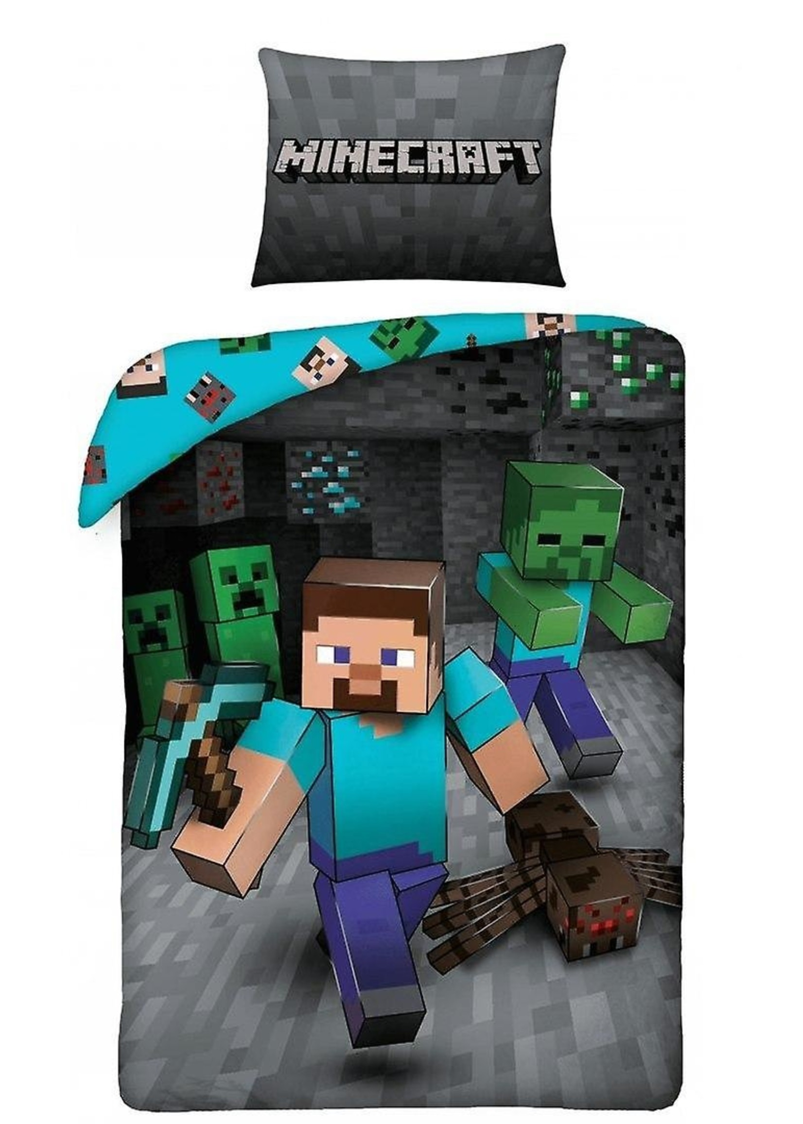 Minecraft Minecraft Dekbedovertrek Ores