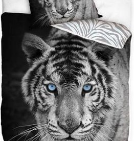 CharactersMania White Tiger Duvet Cove