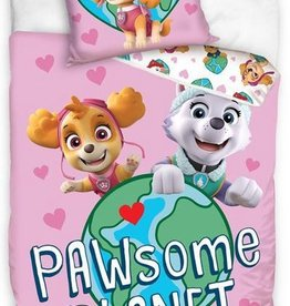 CharactersMania PAW Patrol Dekbedovertrek Pawsome Planet