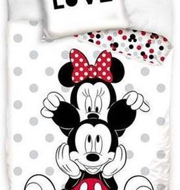 CharactersMania Minnie & Mickey Mouse duvet cover