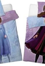 CharactersMania Frozen Dekbedovertrek Double Face Anna & Elsa 140x200cm