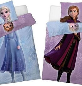 CharactersMania Frozen Dekbedovertrek Double Face Anna & Elsa