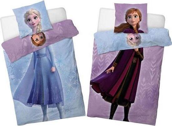 CharactersMania Frozen Duvet cover Double Face Anna & Elsa 140x200cm