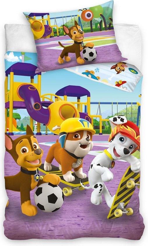 CharactersMania Paw Patrol Nickelodeon dekbedovertrek 140x200 cm