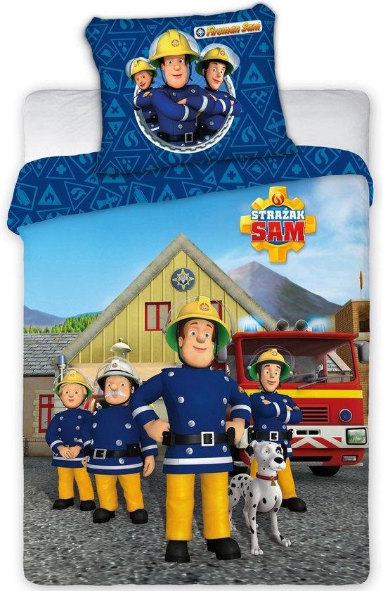 Brandweerman Sam Brandweerman Sam Junior Dekbedovertrek -