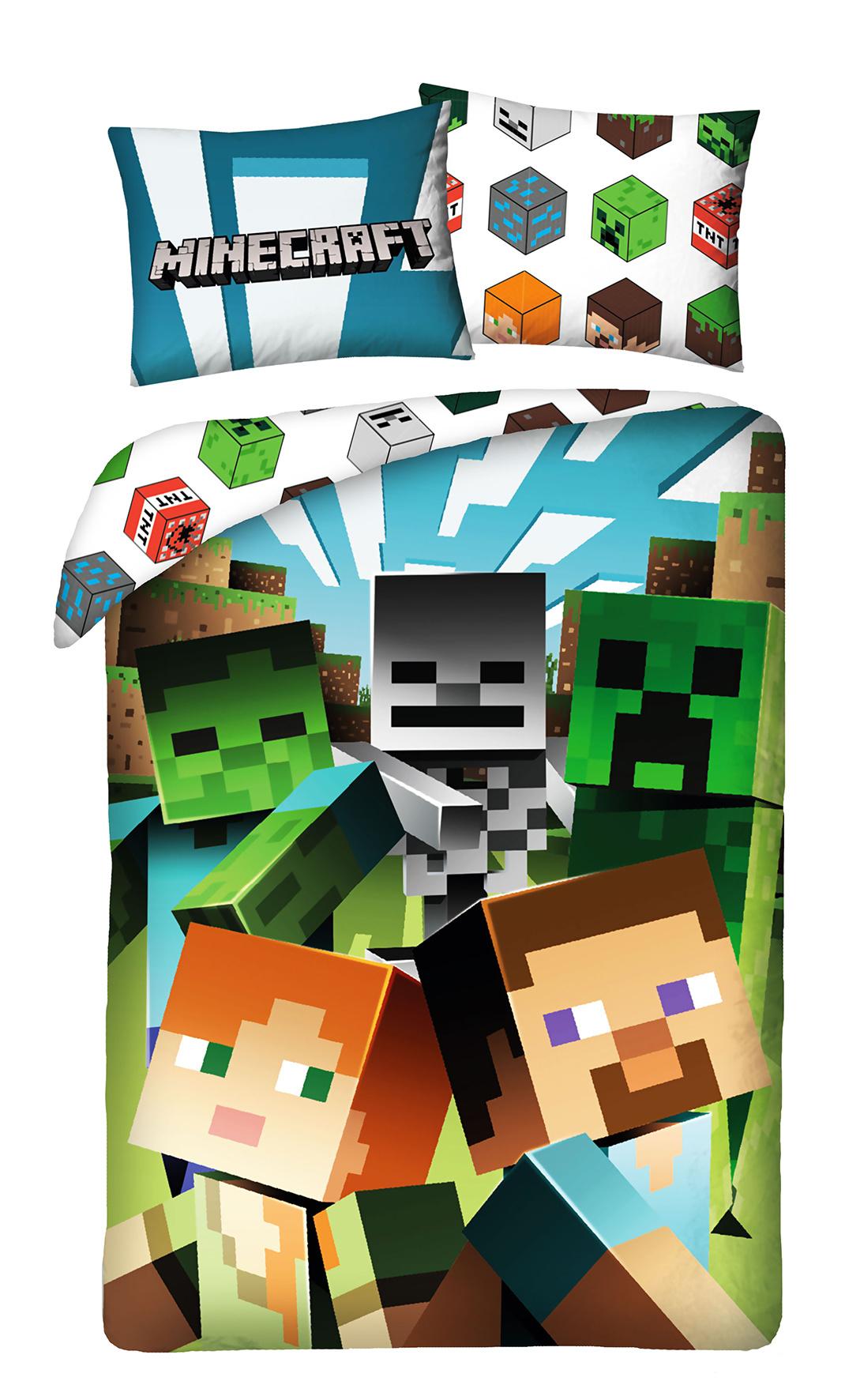 Minecraft Minecraft Dekbedovertrek 140x200