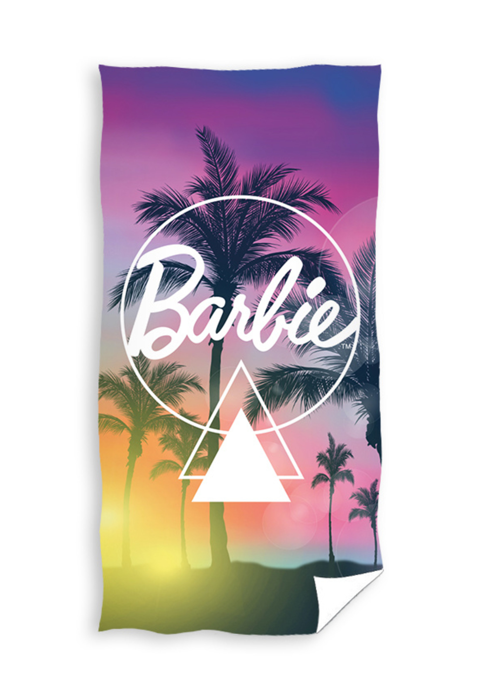 Barbie Handdoek 70x140 Katoen