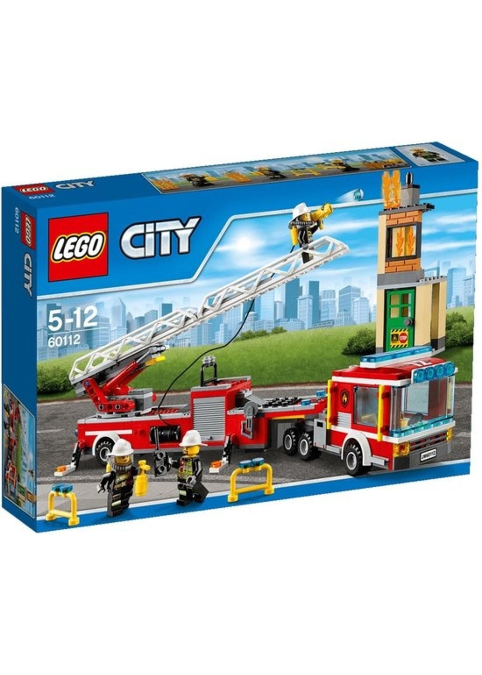 LEGO CITY Brandweer Ladderwagen (60112)