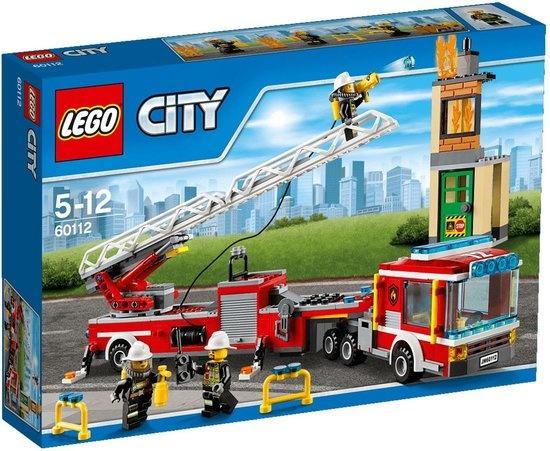 CharactersMania LEGO CITY Brandweer Ladderwagen (60112)