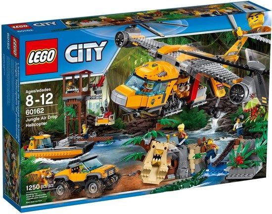 CharactersMania LEGO City Jungle Helikopterdropping 60162