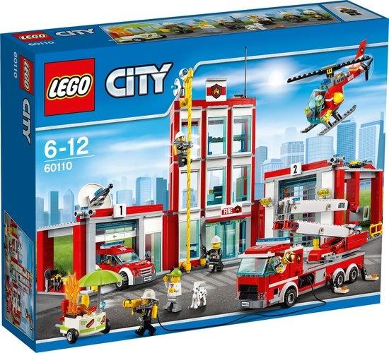 CharactersMania LEGO City Brandweerkazerne 60110