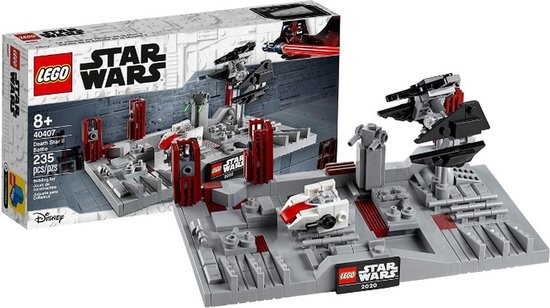 CharactersMania LEGO Star Wars Slag om de Death Star II 40407